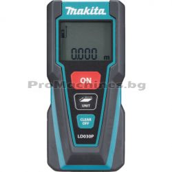 Ролетка лазерна LCD дисплей 30м - Makita LD030P