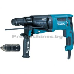 Перфоратор SDS Plus 800W 2.4J - Makita HR2631FT