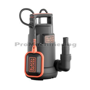 Помпа за вода потопяема за чиста вода 250W - Black and Decker BXUP250PCE